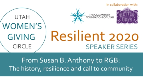 Resilient 2020 | From Susan B. Anthony to RGB: The history, resilience and call to community